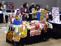 Designer's Marketplace Booth at the Resource Center