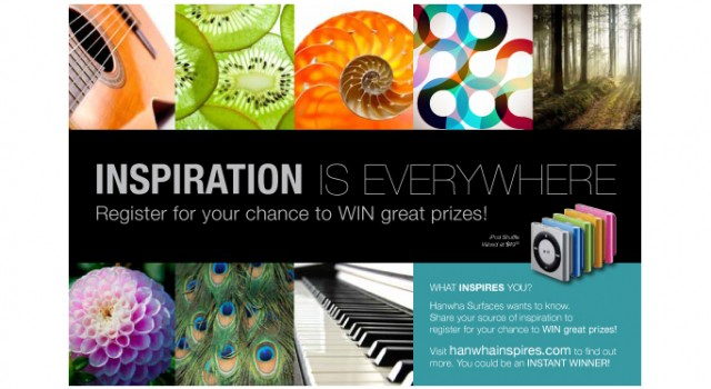 """""""What Inspires You?"""" Contest"""